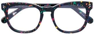 Stella McCartney Eyewear multicoloured speck eyeglasses