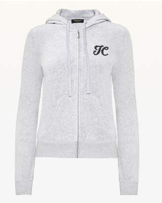 Juicy Couture Ombre Crystal Burst Velour Robertson Jacket