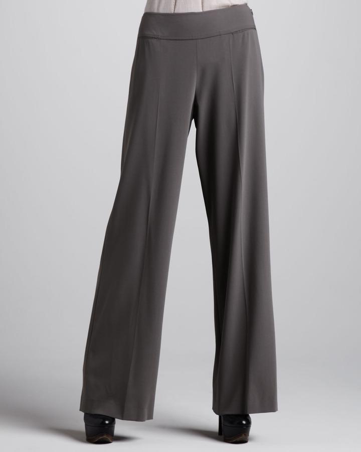 Donna Karan Stretch Sailor Pants