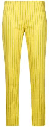 Piazza Sempione striped cropped trousers