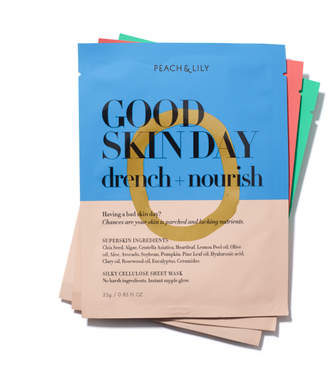 Peach & Lily Sheet Masks, 3 Count