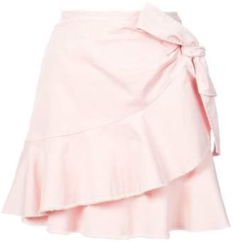 Cinq à Sept ruffled a-line skirt