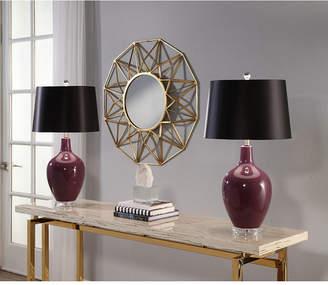 Asstd National Brand Borneo Ceramic Table Lamp Set Of 2
