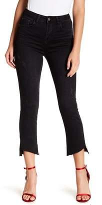 Gracia Step Hem Ripped Jeans