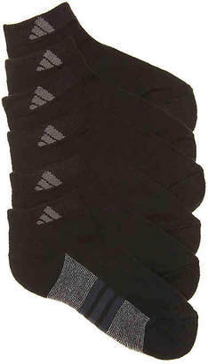 adidas Cushioned Low Basic Youth Ankle Socks - 6 Pack - Boy's