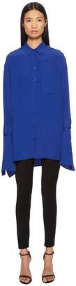 Neil Barrett Silk Tunic Top