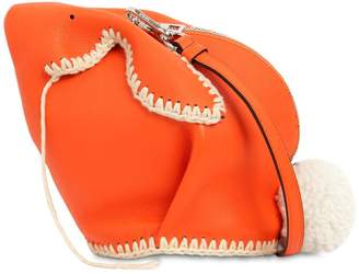 Loewe Bunny Macramé Leather Shoulder Bag