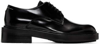 MM6 MAISON MARGIELA Black Polished Oxfords