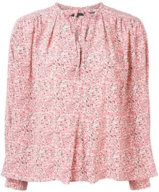 Isabel Marant flower pattern Amba top