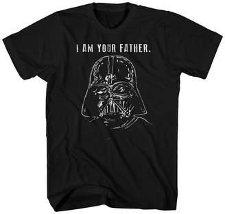Star Wars Novelty T-Shirts Darth Vader Big Reveal Graphic Tee