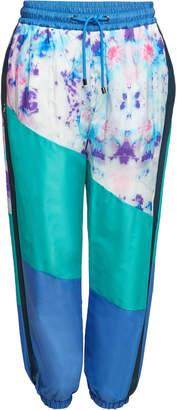 Burberry Printed Drawstring Pants