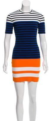 Alexander Wang Striped Mini Dress