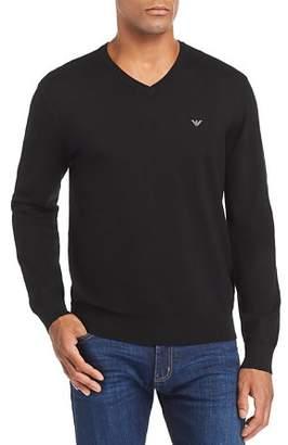 Emporio Armani Knit V-Neck Sweater