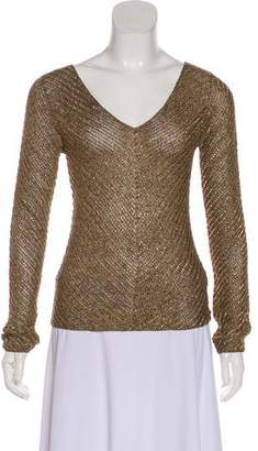 Ralph Lauren Embellished Long Sleeve Top