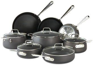 All-Clad HA1 Hard Anodized 13 Piece Non-Stick Cookware Set