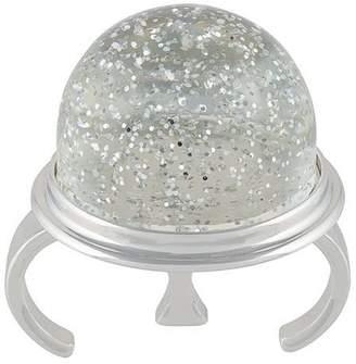 MM6 MAISON MARGIELA round sparkly ring