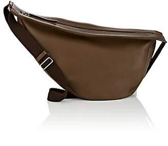 The Row Women's Slouchy Banana Large Leather Bag - Dark Khaki