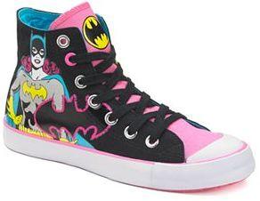 DC Comics Batgirl Girls' High-Top Sneakers $49.99 thestylecure.com