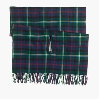 J.Crew Plaid cape-scarf