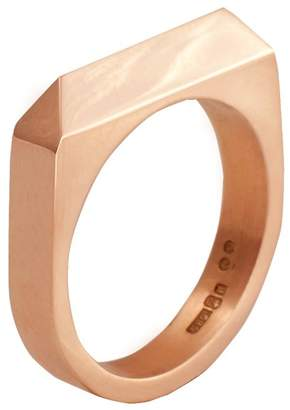 Edge Only - Rooftop Ring in 14ct Gold