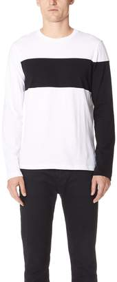 Helmut Lang Band Logo Long Sleeve Tee
