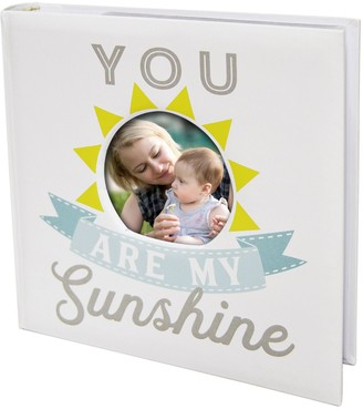 """New View My Sunshine"""" Faux-Leather Photo Album"""