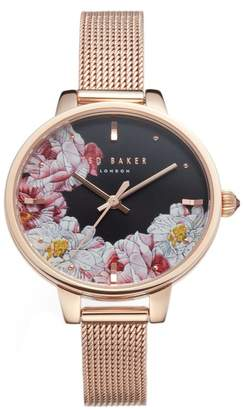 Ted Baker Kate Mesh Strap Watch, 36mm
