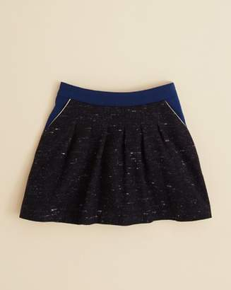 Chloé Girls' Piped Tweed Skirt - Little Kid