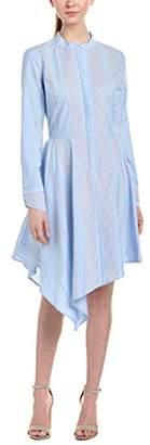BCBGMAXAZRIA Azria Women's Rayanne Asymmetrical Shirt Dress
