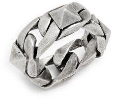 Uomo Chain Ring $120 thestylecure.com