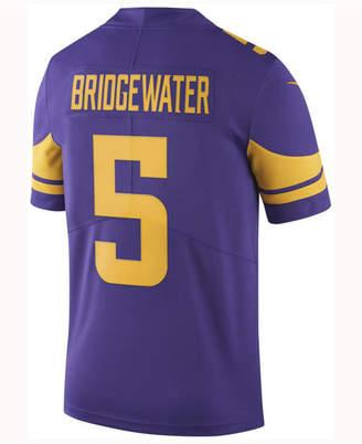 Nike Men's Teddy Bridgewater Minnesota Vikings Limited Color Rush Jersey