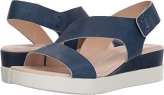 Ecco Women's Touch 2-Strap Plateau Wedge Sandal