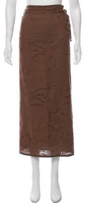 Fendissime Midi Wrap Skirt