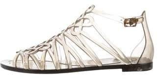 Diane von Furstenberg Jelly Cutout Sandals