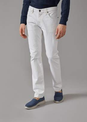 Giorgio Armani Regular Fit Five-Pocket Trousers