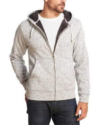 Weatherproof Mens Sherpa Fleece Full Zip Hoodie ( XL)