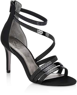 Adrianna Papell Alexi Sequin Strappy Sandal