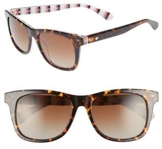 0337afccea6db ... Kate Spade Charmine 53mm Gradient Lens Sunglasses