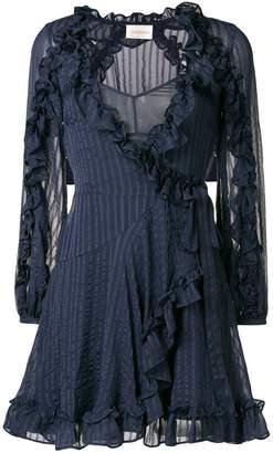 Zimmermann ruffle mini dress