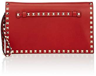 Valentino Women's Rockstud Leather Flap Clutch