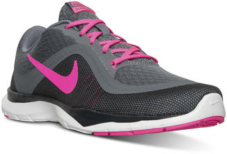 Nike Women's Flex Trainer 6 Training Sneakers from Finish Line $69.99 thestylecure.com