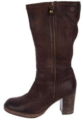 NDC Mid-Calf Leather Boots