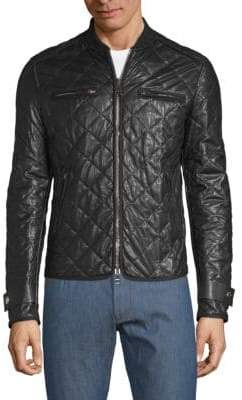 Valentino Quilted Leather Jacket