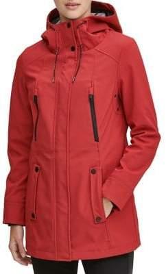 Andrew Marc Malba Hooded Raincoat
