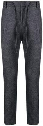 Paolo Pecora drawstring-waist tailored trousers