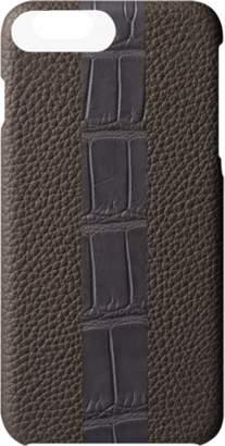 MAiSON TAKUYA Alligator Stripe iPhone 7 Plus Case