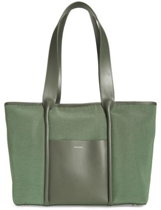 Skagen Lisabet Coated Twill Tote - Green $165 thestylecure.com