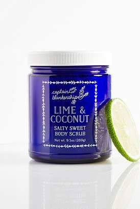 Captain Blankenship Lime Coconut Body Scrub