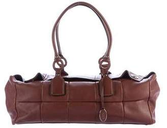 Tod's Quilted Leather Shoulder Bag