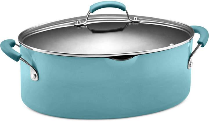 Rachael Ray Hard Enamel 8 Qt. Covered Pasta Pot